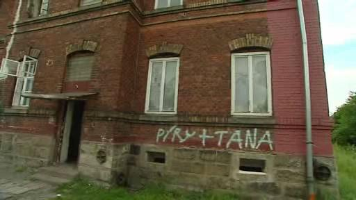 Problémový dům v Orlové