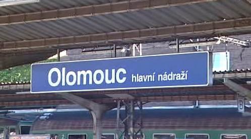 Olomouc hlavní nádraží