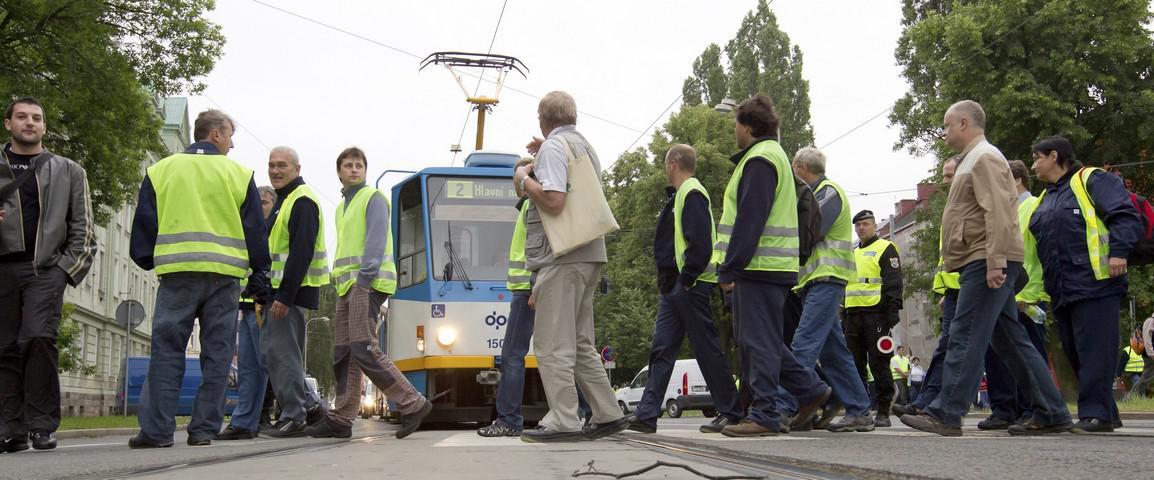 Blokáda dopravy