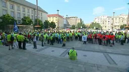 Stávka řidičů