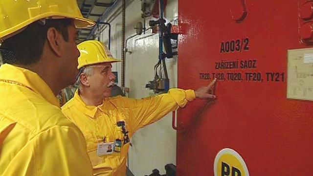Kontrola elektrárny Dukovany