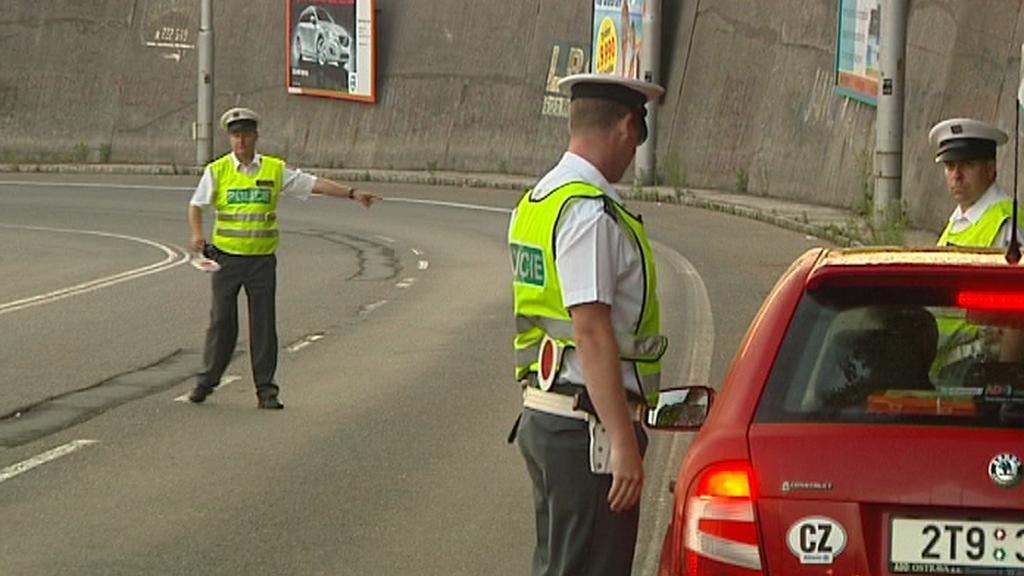 Policisté kontrolovali řidiče