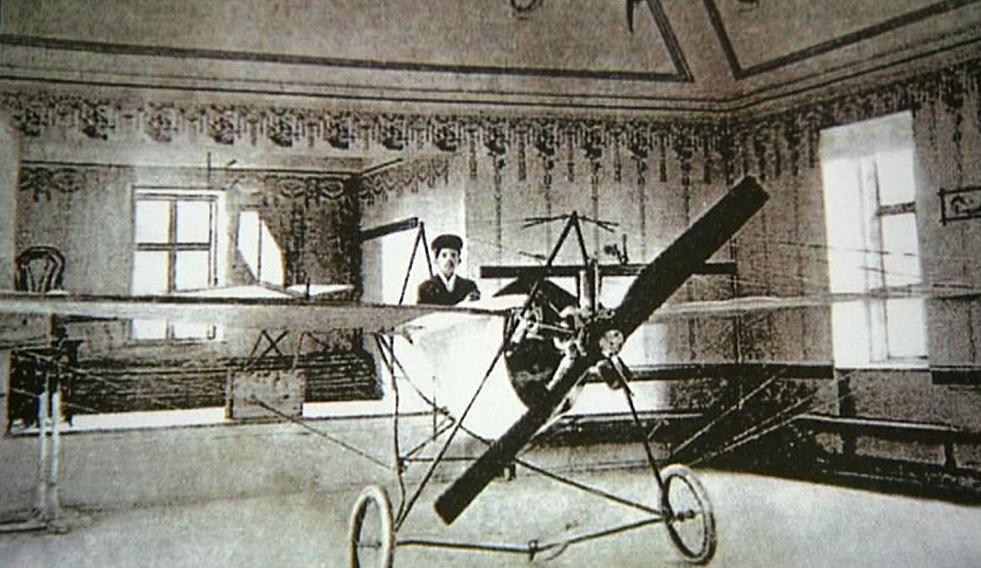 První letadlo