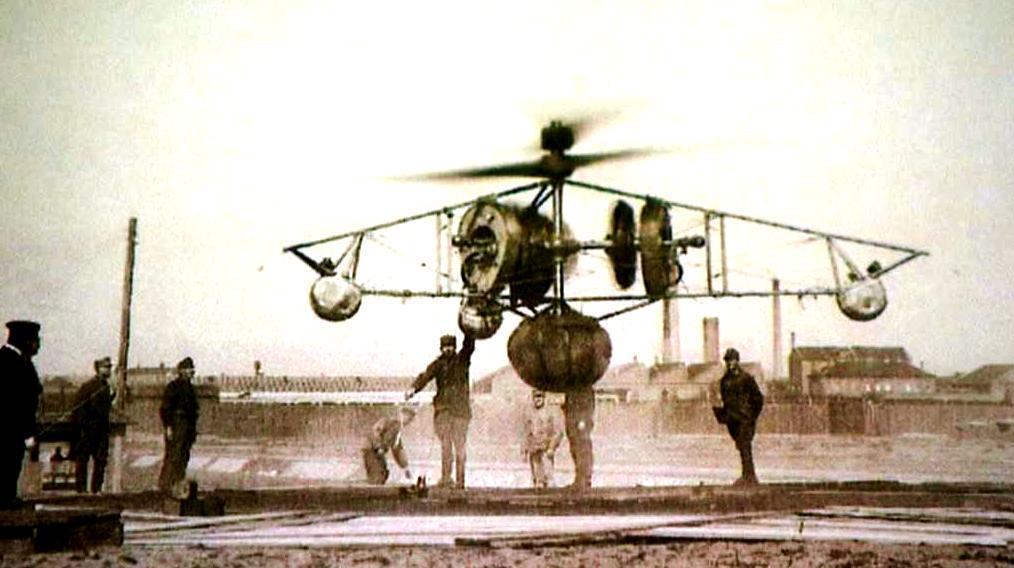 Předchůdce vrtulníku
