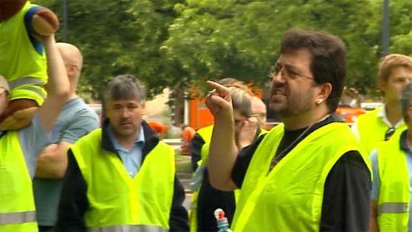 Stávka zaměstnanců ostravské MHD