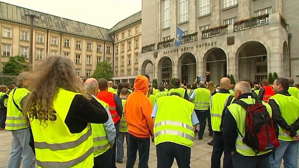 Protest odborářů