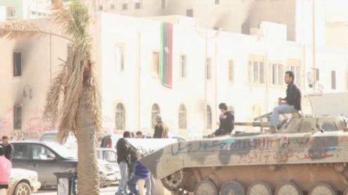 Lybijský konflikt očima Azula Serry