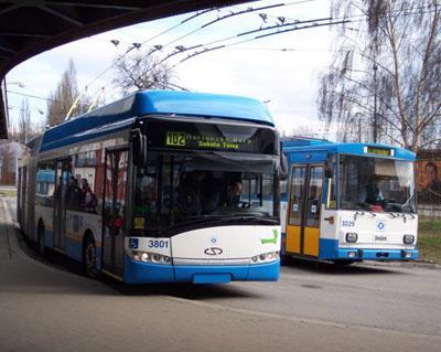 Trolejbus v Ostravě