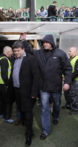 Šéf střížkovského klubu Karel Kapr