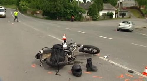 Nehoda motocyklu