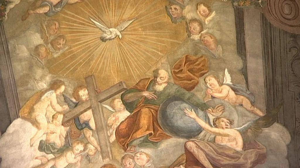Restaurovaná freska