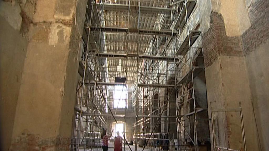 Rekonstrukce opavského kostela