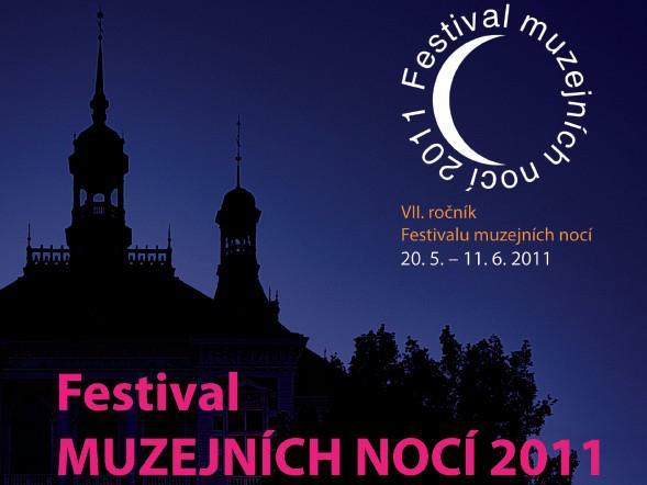 Festival muzejních nocí 2011 / plakát