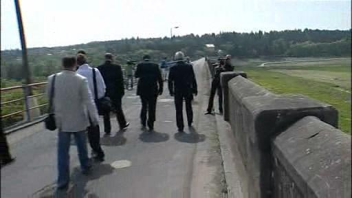 Ministr na Plumlovské přehradě