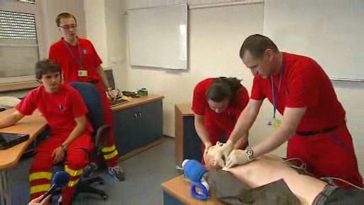 Simulace záchrany pacienta