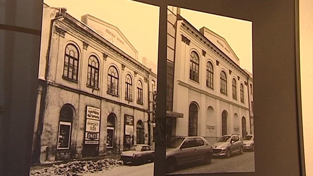 Fotografie z výstavy o Jihlavě