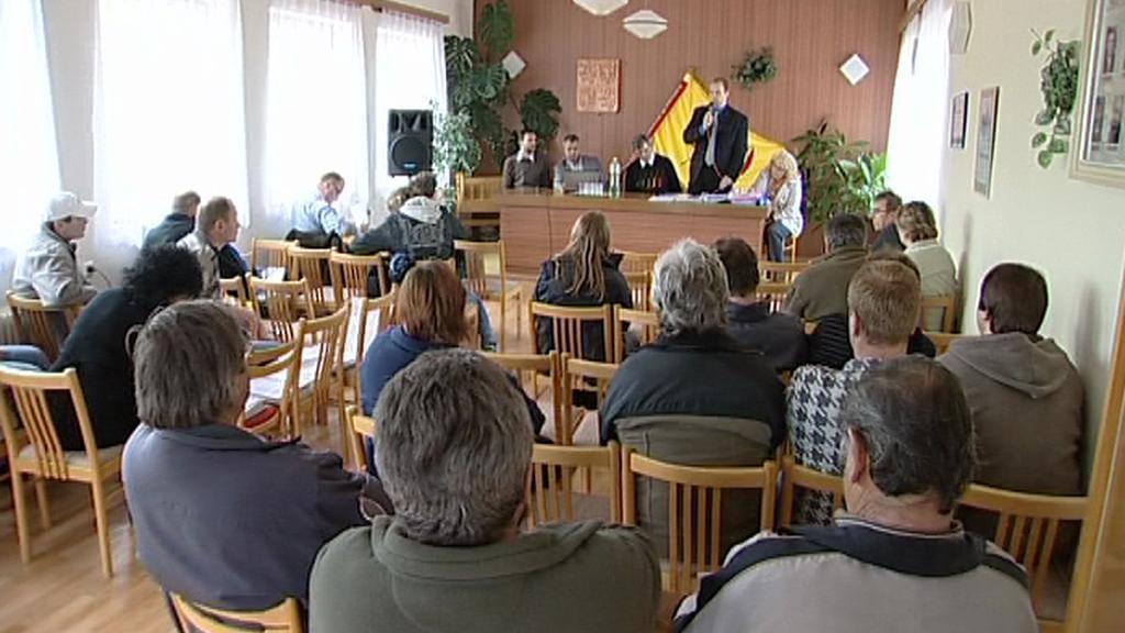 Rovenští občané diskutují o bioplynové stanici