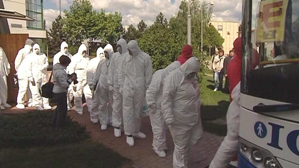 Nácvik havárie v Dukovanech