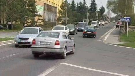 Provoz v ulicích Bruntálu