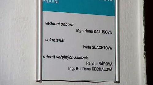 Kancelář Hany Kalusové