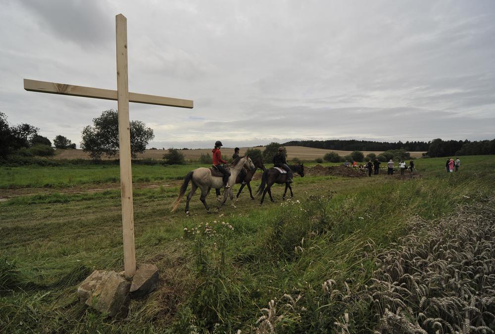Pamětní kříž u Dobronína