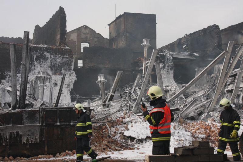 Požár v Chropyni byl zlikvidován