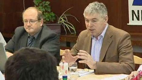 Hejtman Palas na jednání o krnovské nemocnici