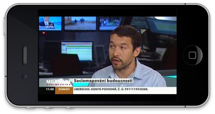 ČT24 na iPhonu