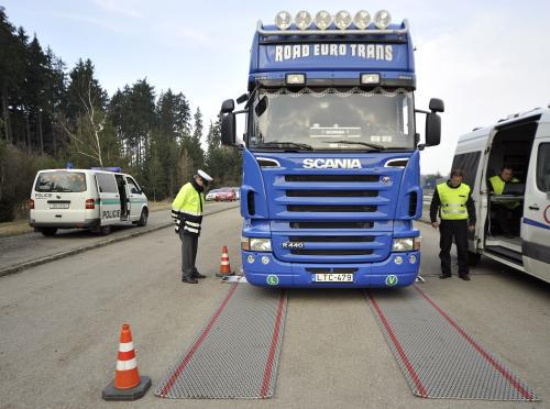 Kontrola kamionu