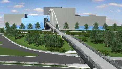 Budoucí most pro pěší