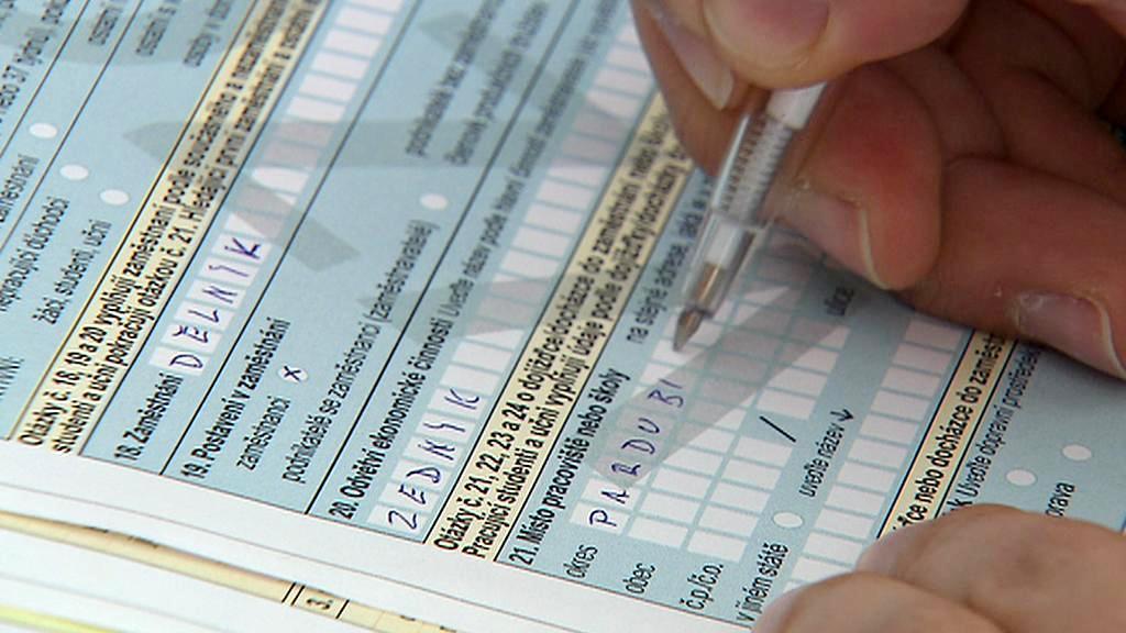 Formulář pro sčítání lidu