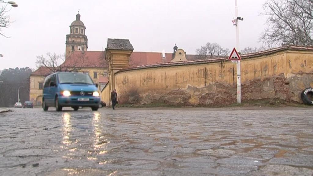 Silnice v Moravském Krumlově