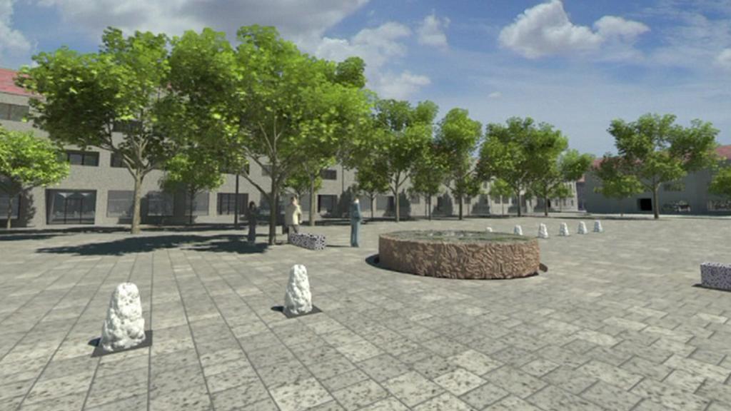Plánovaná rekonstrukce náměstí