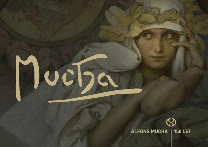 Výstava Alfonse Muchy v ostravském Domě umění