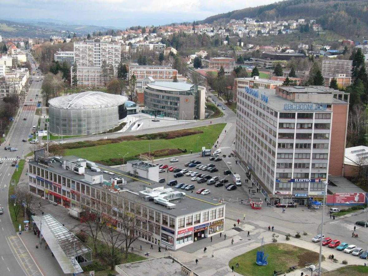 Moderní centrum Zlína