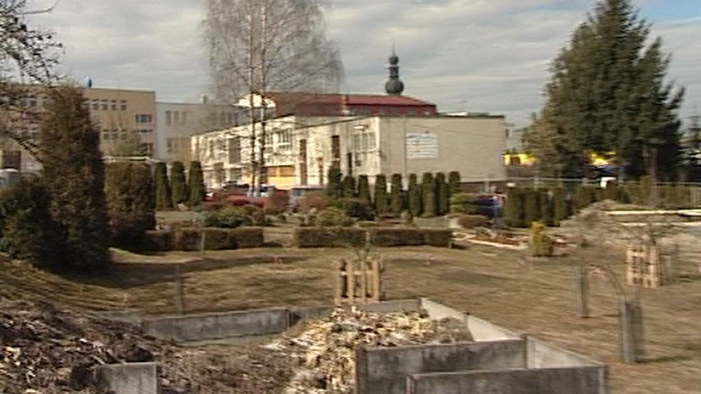 Školní zahrada ve Žďáru nad Sázavou