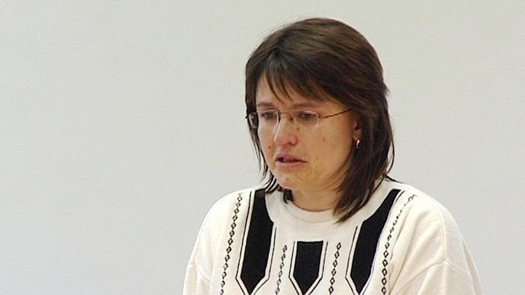 Alena Hašková u soudu