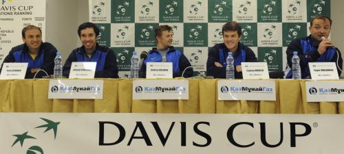 Daviscupové družstvo Kazachstánu