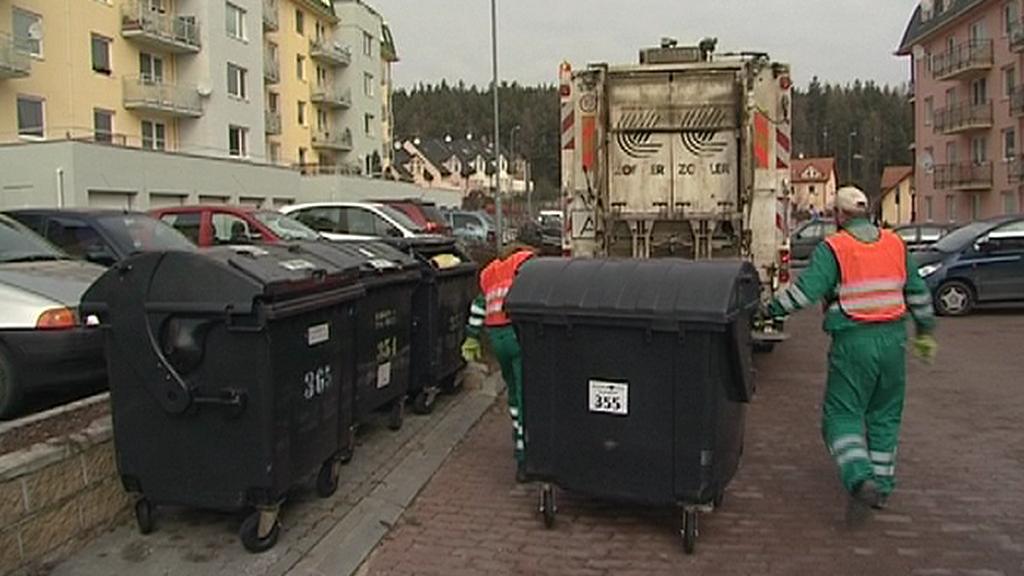 Vyvážení odpadu