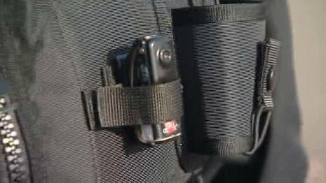 Minikamera v kapse vesty