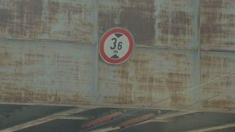 Výška podjezdu upravená pro kamiony