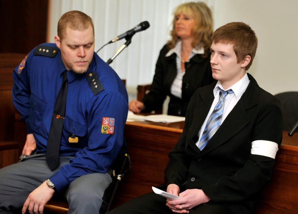 Petr Hanák před soudem