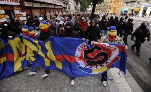 Sparťanští fanoušci