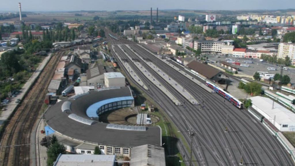 Vizualizace modernizace nádraží