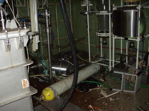 Výbuch v laboratoři ve Veverské Bytíšce