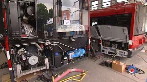 Trolejbusy z dílny ostravského dopravního podniku