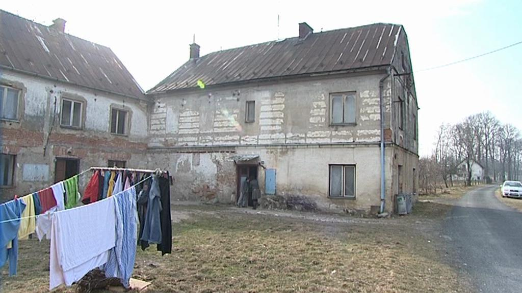 Dům v romské lokalitě