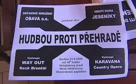 Protesty proti přehradě