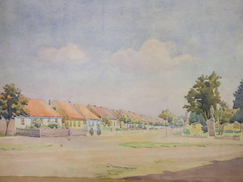 Akvarel Karla Božka