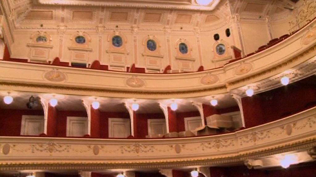 Interiér opavského divadla